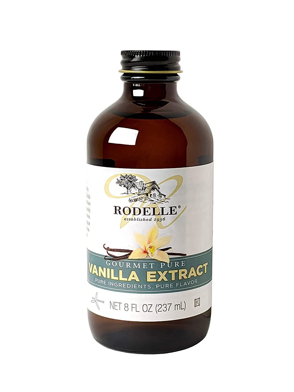 Rodelle Price reduction Max 78% OFF Gourmet Pure Vanilla Oz Extract 8