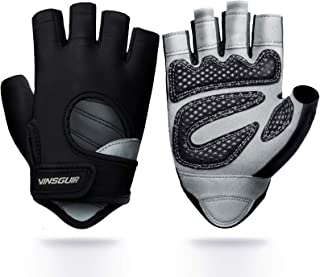 Vinsguir Workout Gloves for Men & Women, Lightweight Breathable Gym Gloves, Exercise Weight Lifting Gloves, Cycling Gloves...