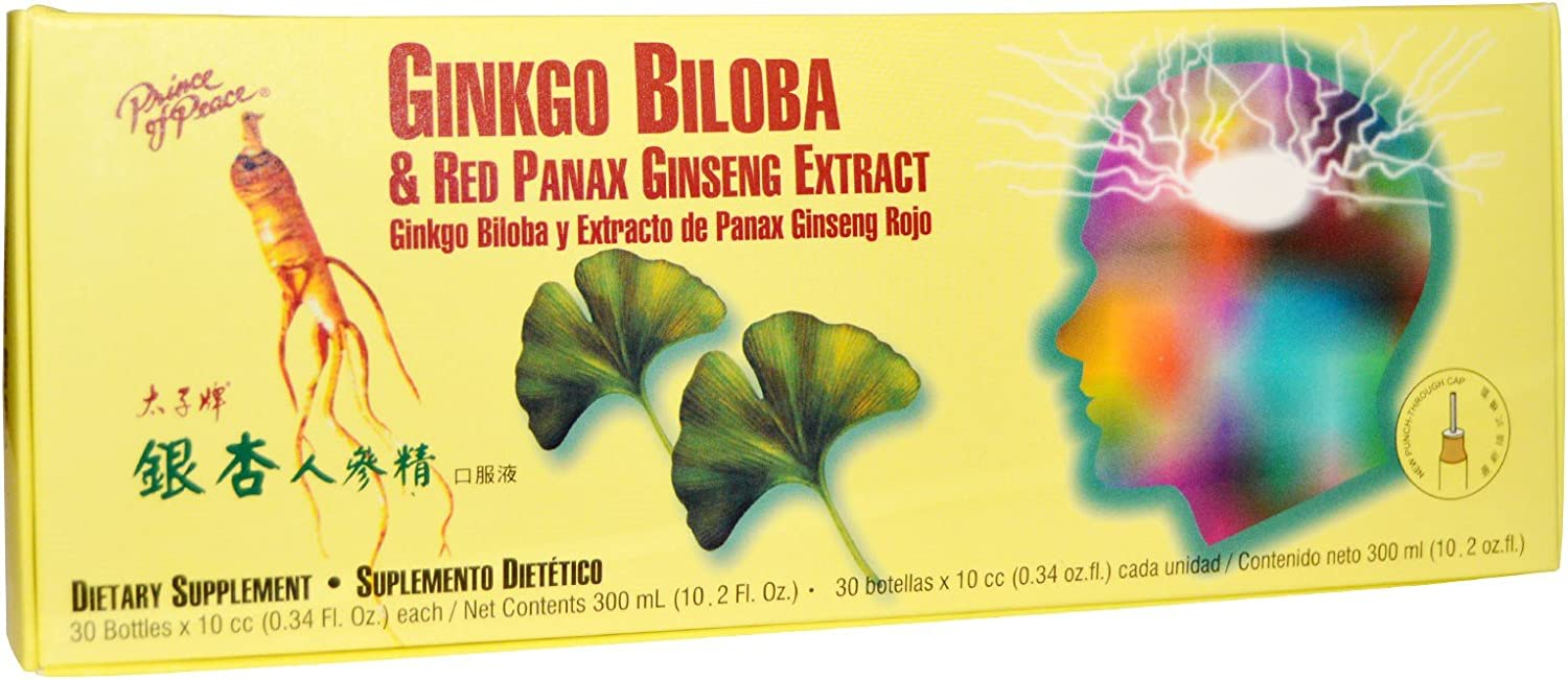Prince Of Peace Ginkgo A surprise price is Department store realized Biloba Red Panax