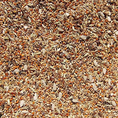 Mixerama® Futterzusatz - 1kg Glückliche Nager - Saatenmischung - Futtermischung - Ergänzungsfutter für Kaninchen und Nager