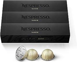 Nespresso Capsules VertuoLine, Vanizio, Medium Roast Coffee, 30 Count Coffee Pods, Brews 7.8 oz