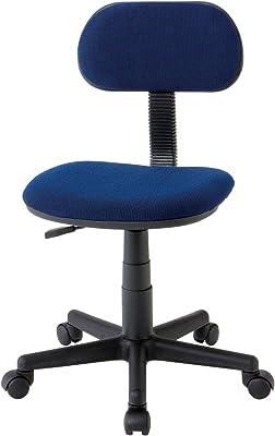 椅子 スタディー チェア 肘なし ブルー E-100XS (BL)