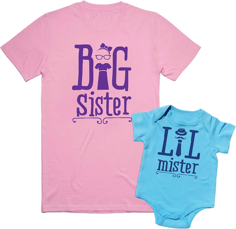 Texas Tees, Big Sister to A Little Mister Shirt, Sibling Shirts,