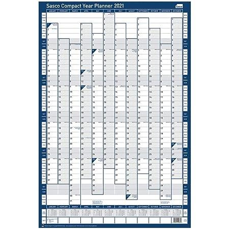 non mont/é Sasco Year Planner 2021 Compact Portrait
