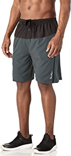 MAGCOMSEN Men's Running Shorts with Pockets Mesh Liner Quick Dry Shorts for Workout, Jogging, Hiking