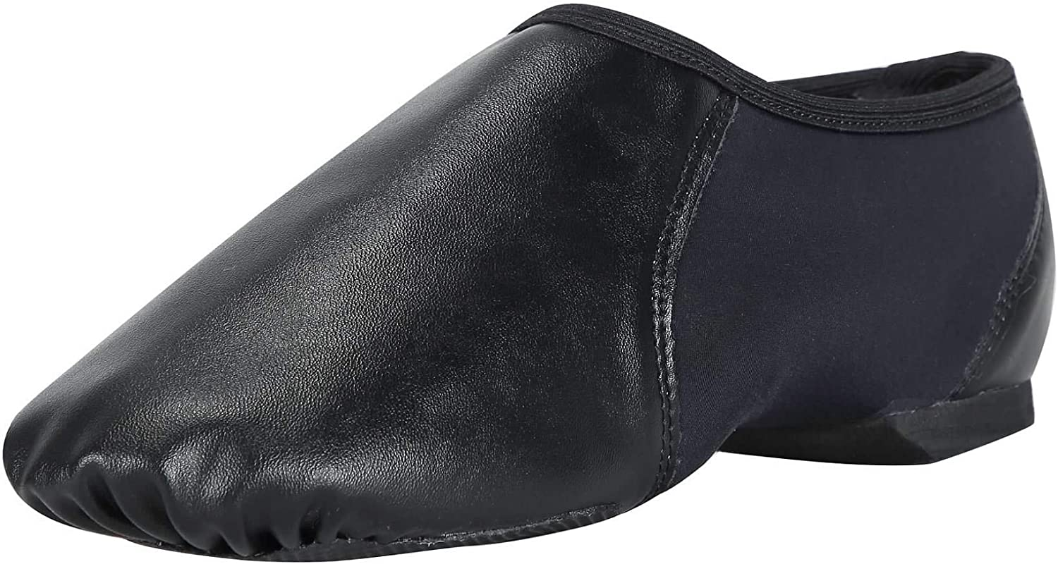 Linodes Ranking TOP14 PU Leather Jazz Shoe Slip On Circle Dance Ela with Shoes Max 87% OFF