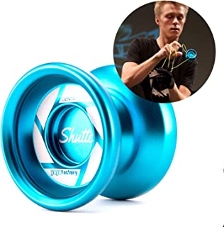 YoYoFactory Avant Garde Yo-Yo Light Lime and Aqua Splash