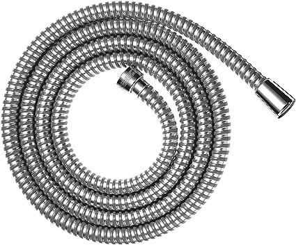 1 m/ètre Tuyau de douche en chrome flexible en acier inoxydable de 2 m 1er choix