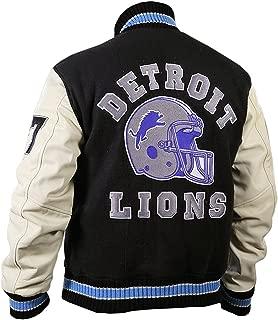 Hills Mountain Cotton Fleece Detroitt Lions Vintage Sports Jacket:Halloween Special Sale