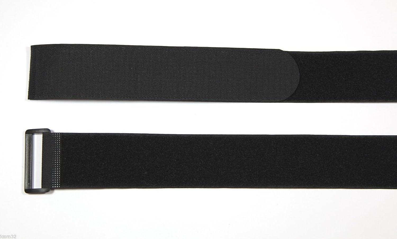 Stück schwarz Haken- und-Loop Original Original Original Velcro® Klettverschluss, Kabelbinder mit Schnalle in Schwarz 2,5 cm breit x 60 cm lang B01AYMHDOO | Ausgang  8b7390