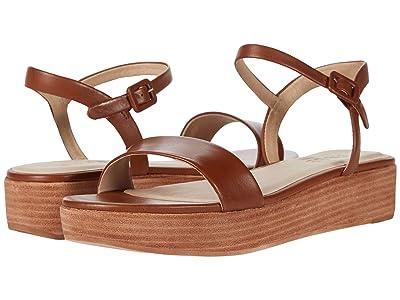 ABLE Larissa Platform Sandal (Cognac) Women