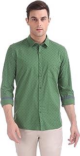 Ruggers Men's Printed Regular fit Casual Shirt