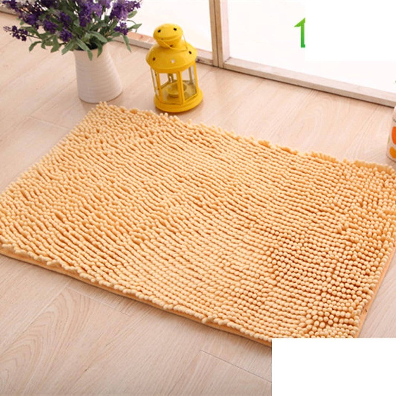 Simple mats Doormat Door [Living Room] Kitchen Floor mats Bathroom Foot Pad Water Absorption and Anti-skidding mat-E 70x140cm(28x55inch)