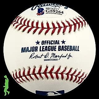 Jon Lester Autographed Signed Memorabilia Rawlings Rawlings MLB Baseball Ball Cubs Beckett BAS COA