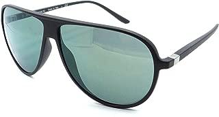 Starck Mikli Biosun Sunglasses SH5011 0001/6R 60x10 Matte Black - Green Mirror