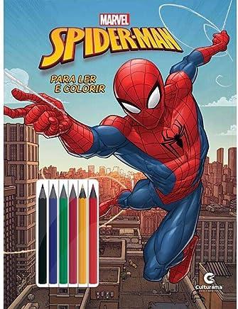 Homem Aranha Ler E Colorir Blister
