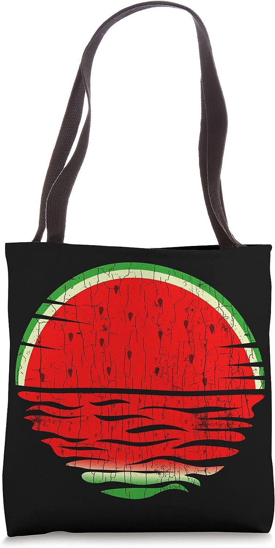 Watermelon Vaporwave Funny Summer Fruit Regular dealer Tote Indefinitely Lover Bag Graphic