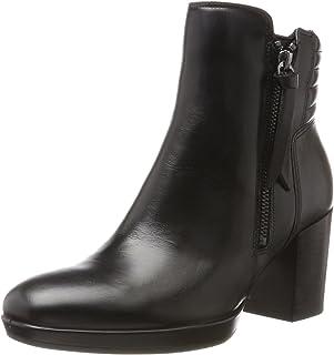 حذاء شايب 55 تشاليت بلاتفورم بطول الى الكاحل للنساء من ايكوـ اسود