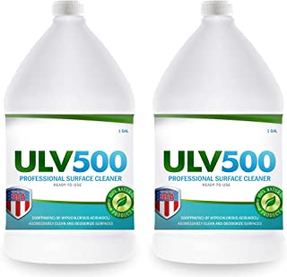 Sponsored Ad - Hypochlorous Acid ULV500 500PPM (2-Gallons) For ULV Foggers, For Dental And Medical Professionals, All Natu...
