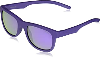 Polaroid Sunglasses Girls' Pld8020s Polarized Rectangular...