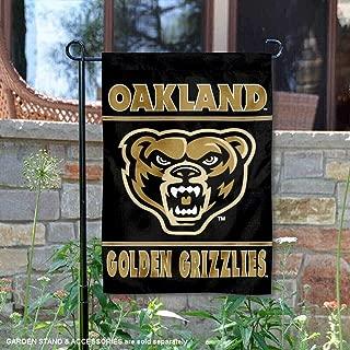 Oakland Golden Grizzlies Garden Flag and Yard Banner