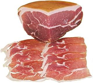 Jamon de Parma Dop. Cav. U. Boschi. Pedazo peso 1,900 Kg. sazonado 16 meses, en vacío.