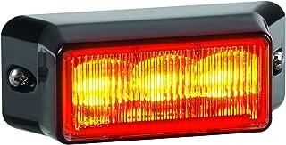 Federal Signal IPX302-2 IMPAXX LED Exterior/Perimeter Light, Amber LEDs, Amber Lens