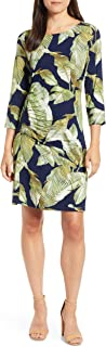 Women's Fiesta Palms Shirred Dress