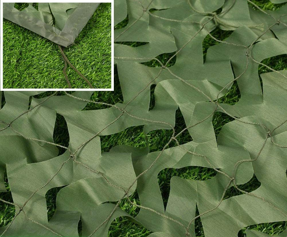 Hyffdj Same day shipping Outdoor Hunting Military Camouflage Woodland Net 5X6m 16f Popular overseas
