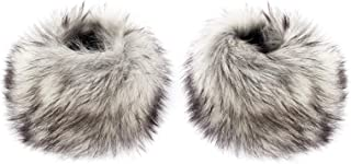 Faux Fox Fur Hair Soft Wrist Band Ring Cuff Warmer