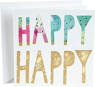 Hallmark Studio Ink Birthday Card (Happy)