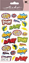 boom pow comic book