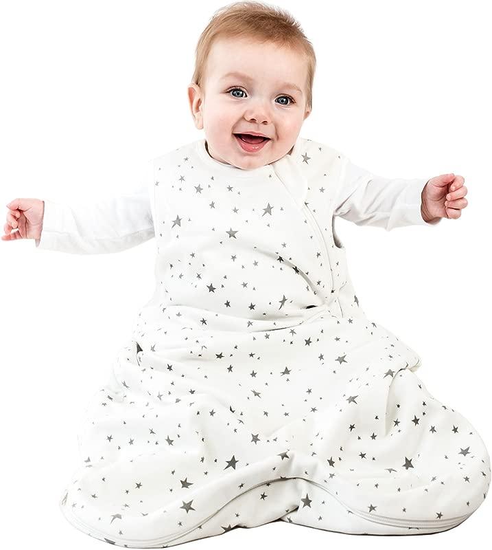 Woolino 4 Season Basic Baby Sleeping Bag 6 18 Months Australian Merino Wool Stars