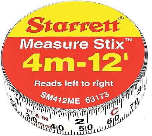 """SM412ME 1/2"""" x 12' Measure Stix"""