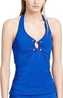 Calvin Klein Women's Studded Halter Tankini Top