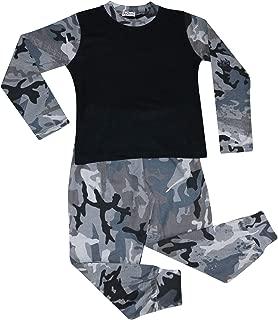 A2Z 4 Kids Bambini Ragazze Ragazzi Tuta Set Pianura Camo Carbone Contrasto Colore Corto Maniche T Shirt Top /& Pantaloncini Pigiama Indumenti da Notte PJs et/à 2-13 Anni