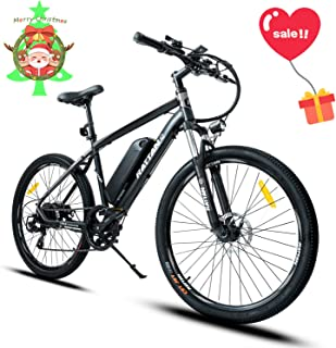 Mukkpet 350W Pro Electric Bicycle for Adults e-Bike with I-PAS Power System and 36V 10.4AH Samsung Lithium Battery