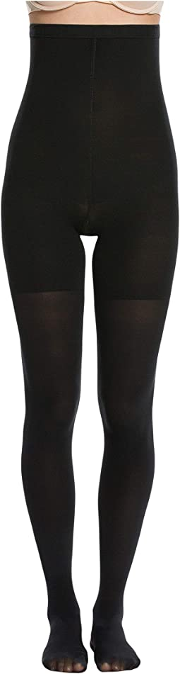 18dbe5390 Luxe Leg Mid-Thigh Shaping Tights.  28.00. 4Rated 4 stars. Very Black
