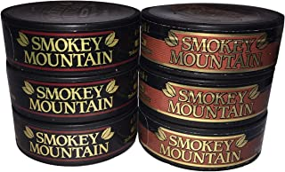 Smokey Mountain Snuff - 6 Can Sampler Pack (Classic + Straight)
