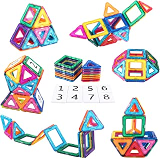 AMOSTING Magnetic Building Blocks Present Package Toy...