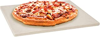 LEVIVO Pizza Stone/Bread Baking Stone, Heat-Resistant Cordierite, Baking Stone, Pizza Baking Stone for Grill & Oven, Firep...