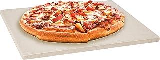 Levivo 331800000103 Pierre à pizza en cordiérite, Beige, 30 x 38 x 1,5 cm