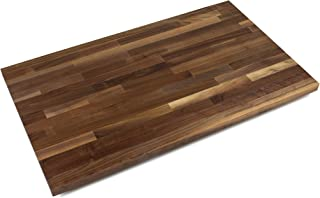 John Boos WALKCT-BL6025-O Blended Walnut Counter Top with Oil Finish, 1.5