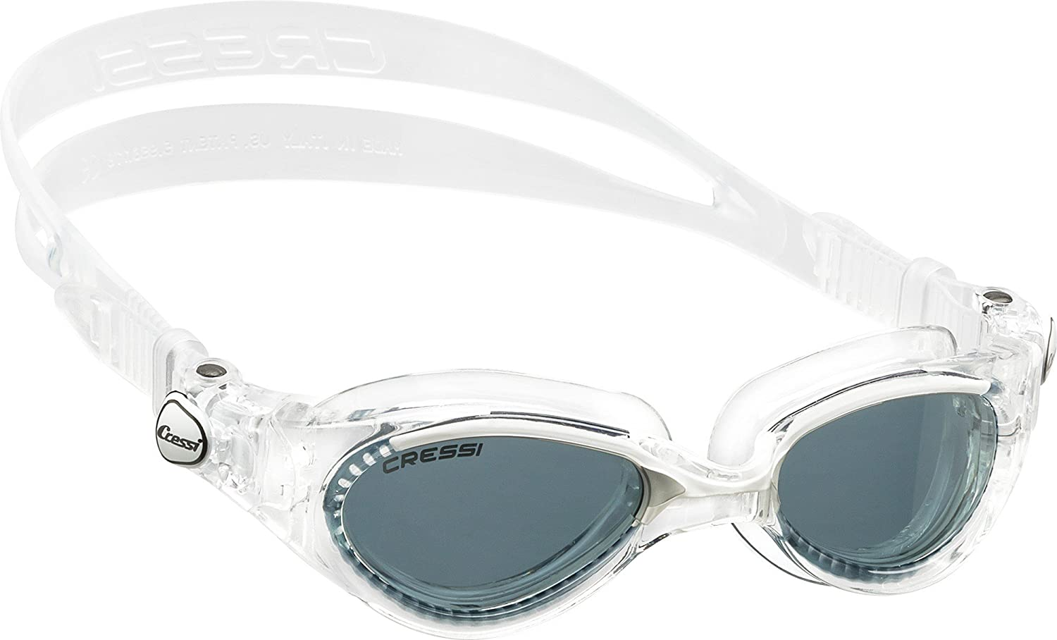 Cressi Flash Lady, clear white, tinted lens