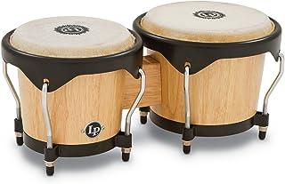 Latin Percussion LP601NY-AW LP City Wood Bongos - Natural