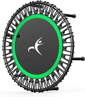 HXZ Vuxen mini trampolin fitness studsmatta, tyst och stabil studs, lämplig för barn vuxensport studsmatta inomhus- och ut...