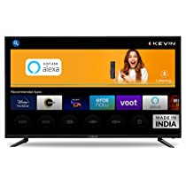 Kevin 109 cm (43 inches) Full HD Smart LED TV KN43ALEXA (Black) (2021 Model) | With Alexa Built-in