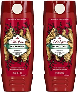 Old Spice Wild Collection Bodywash, Bearglove, 16 oz (2-Pack)