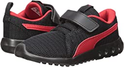 Puma Black/High Risk Red