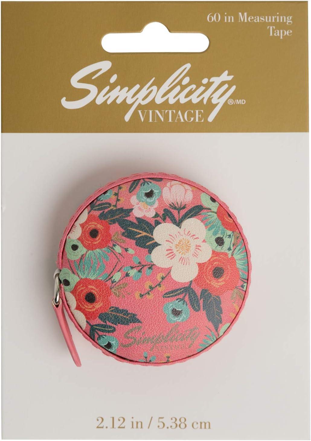 Simplicity Over item handling Vintage Fashion Floral Tape Finally popular brand Measuring Measure Sewing